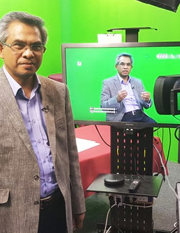 Recording For TV Programme Minda Syariah
